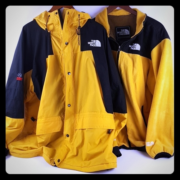 a02c34a24 Mens The North Face gore-tex 2 in 1 jacket